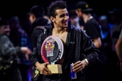 The Wolfer is the winner of the Red Bull Bc One Cypher Austria at the Volkstheater in Vienna on April 14th 2018 // Little Shao/Red Bull Content Pool // AP-1VC4KVDSD2111 // Usage for editorial use only // Please go to www.redbullcontentpool.com for further information. //
