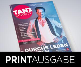Thomas Kraml am TANZSCHRITT-Cover, Ausgabe 12